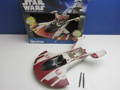 star wars JEDI TURBO SPEEDER SHIP TCW the clones wars HASBRO vehicle 0309