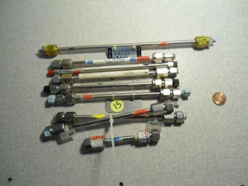 Supelco Hamilton Whatman HPLC Liquid Chromatography Column Columns Lot of 9