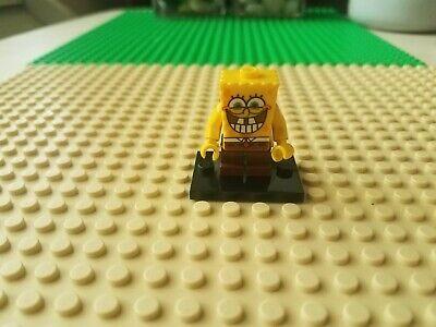 LEGO SPONGEBOB MINIFIGURE VERY HAPPY BRAND NEW FROM SEALED SET READY TO SHIP