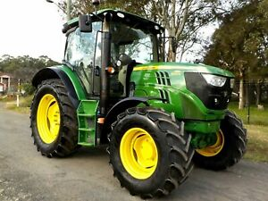 2015 John Deere 6125R 4x4 125hp Agricultural Farm Tractor Austral Liverpool Area Preview
