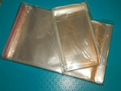 Clear Resealabe Bags Cello Photo Goodie Bags Packages Baked Goods Gifts Plastic