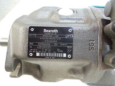 New Gusmer Graco 6317-44-1300 Hydraulic Pump - Rexroth A10vso18drg31r Pkc62n0