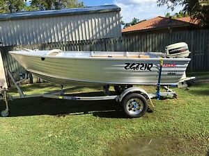 Stacer 4.0m tinny high sides HD , trailer, outboard Alexandra Hills Redland Area Preview