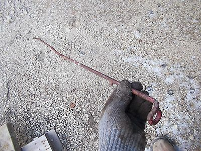 Farmall H M Early Sh Sm Tractor Ih Hydraulic Belly Pump Control Linkage Rod Ihc