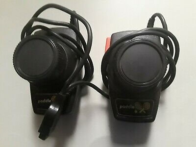 Tele-Games Atari Set of Paddle Controllers WORKING CONDITION