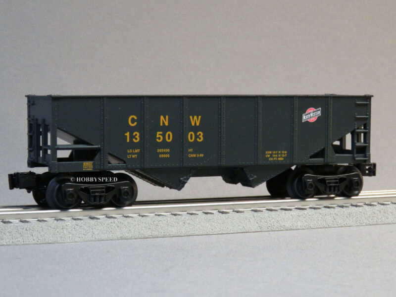 LIONEL CHICAGO NORTH WESTERN COAL HOPPER 135003 o gauge train freight 6-83624 H