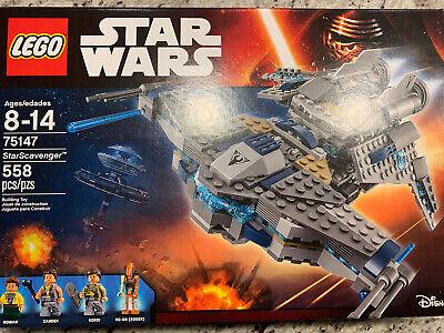 Brand New Sealed LEGO Star Wars STARSCAVENGER Building Set #75147 Retired