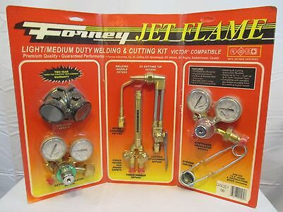 Forney Jet Flame Set Nib -- Light To Medium Duty Victor Type Oxygen Acetylene