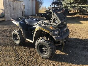 2014 brute force 650 vtwin