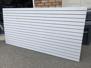 6 sheets available! Used 4'x8' Slot Wall in good condition.