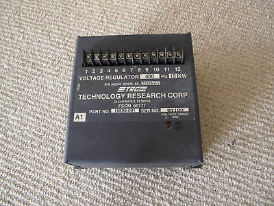 Mep-814a Military Generator Voltage Regulator 15kw 400hz Trc 19890-001 Nos