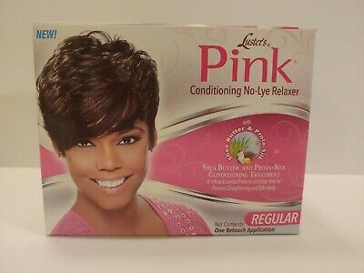 Luster's Pink Conditioning No-Lye Relaxer Kit Conditioning Treatment - Regular -