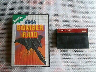 Jeu Master system / Ms Game Bomber Raid + Boite SEGA retrogaming original*