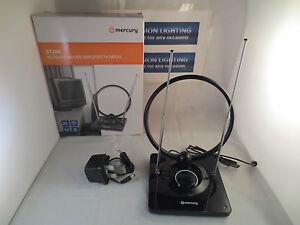 Indoor TV ariel Portable TV antena High power TV ariel amplified set top TV