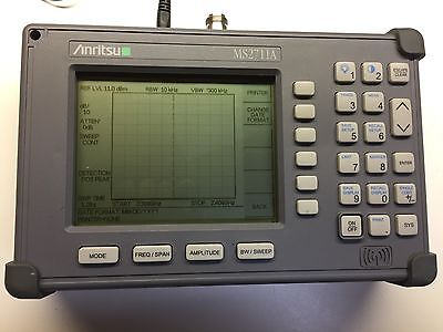 Anritsu Ms2711a Hand Held Spectrum Analyzer