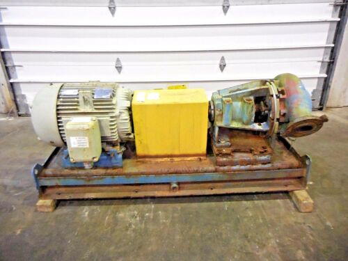 "RX-3637, METSO MM150 LHC-D 6"" x 4"" SLURRY PUMP W/ 50HP MOTOR AND FRAME"