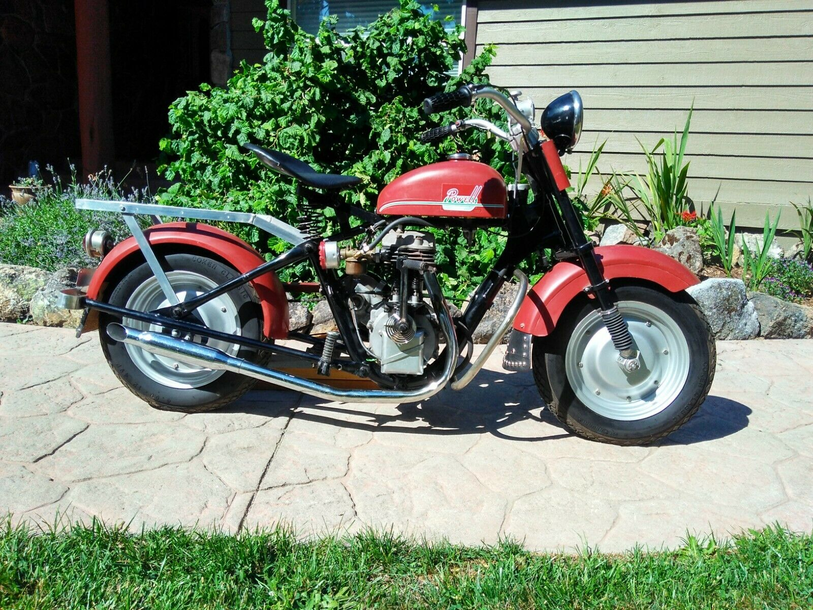 1950 Powell P-81 Motor Scooter