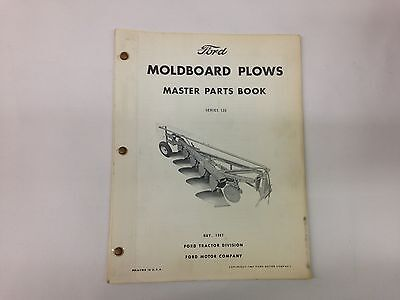 Ford Fordson Tractor Series 130 Moldboard Plow Master Parts Book