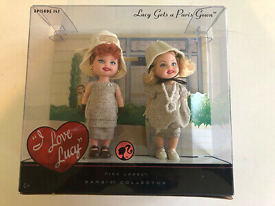 LUCY GETS A PARIS GOWN BARBIE DOLL New In Box - SET EPISODE 147 I LOVE LUCY