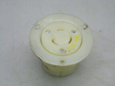 HUBBELL HBL2316 AC Flanged Outlet NEMA L5-20 Female ()