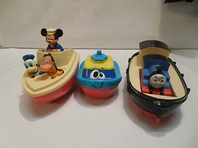 Tub Toys : Disneyana and Thomas the Tank Engine and One Other