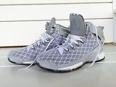 b0eb24af3e55 mens Adidas D Rose Boost 6 Grey Basketball shoe sneaker SIZE 6