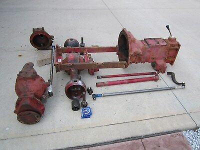 Ih International 284 Diesel Tractor Mfwd Assembly