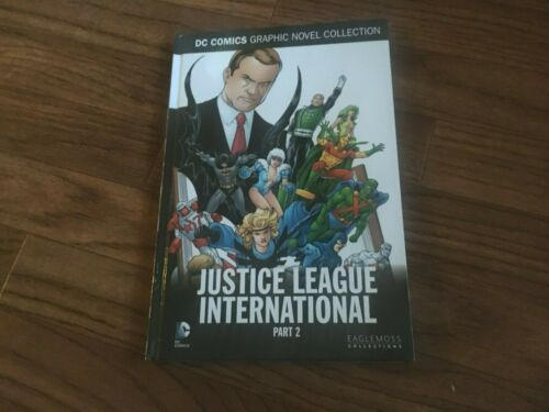 Justice League International Part 2 Eaglemoss Vol 71 DC HC Graphic Novel