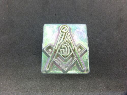 Vintage Leather MIDAS 2-D Masonic Stamp #8261.