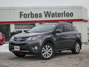 2013 Toyota RAV4 1 OWNER *AWD* Limited