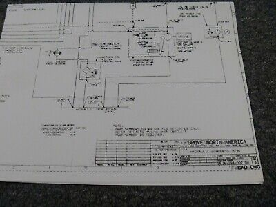 Grove Mz90 Manlift Boom Lift Hydraulic Schematic Electrical Wiring Diagram
