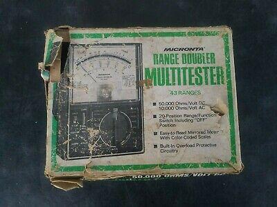 Micronta - Vintage Range Doubler Multitester - 22-204a