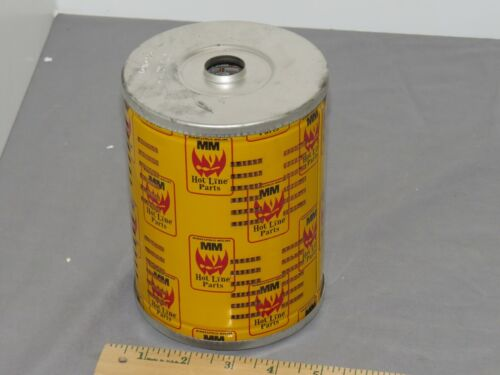 Vintage Minneapolis Moline Tractor Oil Filter NOS Great display Piece! Hot Line