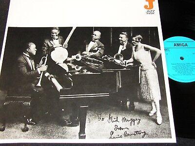 LOUIS ARMSTRONG 1923 - 1927 / DDR blue Label LP 1980 AMIGA 850044
