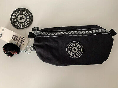 Pencil Case Kipling Cosmetic Pouch Keychain Black