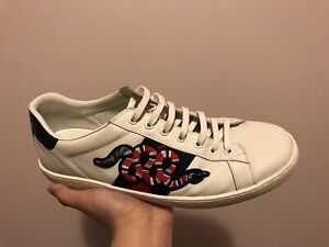 0c625d69b3dca9 Gucci Snake Ace Sneakers