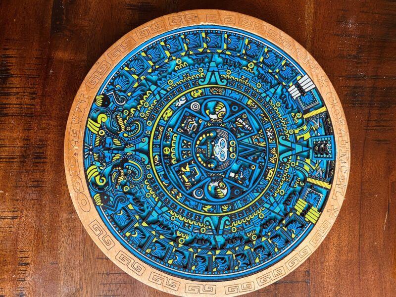 mayan calendar carving