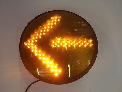 2405 Precision Solar Controls Yellow Traffic Light Arrow