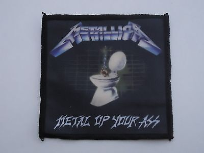 METALLICA METAL UP YOUR ASS SUBLIMATED PATCH
