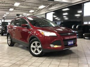 2015 Ford Escape SE, Back up cam, Pwr seats, Low KM, Car Proof