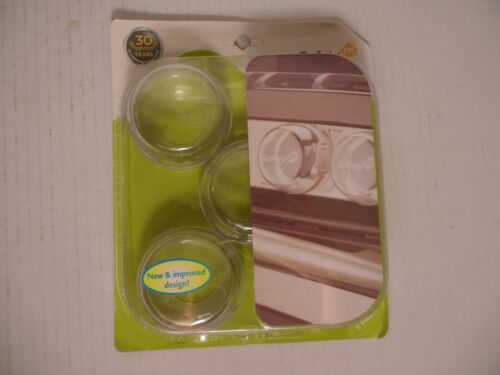 Child & Baby Safety 1st Clear View Kitchen Stove Knob Covers, 5 Pack