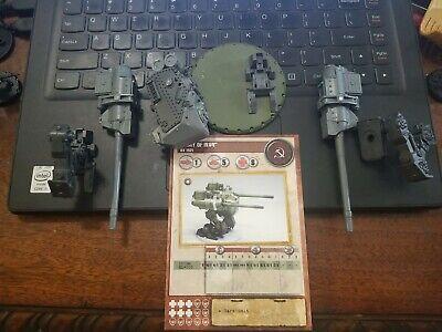 Dust Tactics Warfare Fury Of Ivan KV 1521 Walker SSU