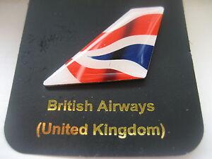BA BRITISH AIRWAYS  NEW LOGO TAIL PIN BADGE
