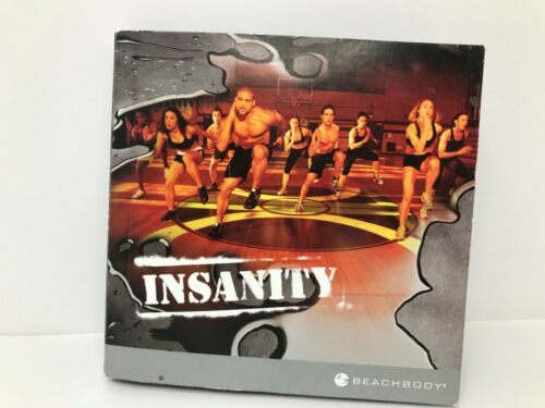 Insanity BeachBody Total Body Workout Program 10 Disc DVD Set Complete