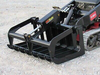 42 Heavy Duty Root Grapple Bucket Attachment Fits Toro Dingo Mini Skid Steer