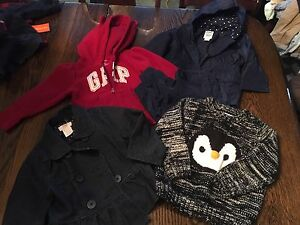 Girls 12-18 month jackets and sweaters