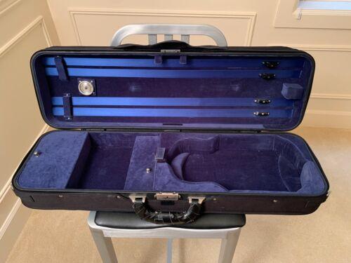 SHAR American Case Eagle Hill Style BLUE Violin Case w/ Subway Strap  4/4 Size