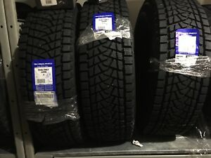 4x P 245/70/R17 105 Q Snow Tires NEW NEVER INSTALLED