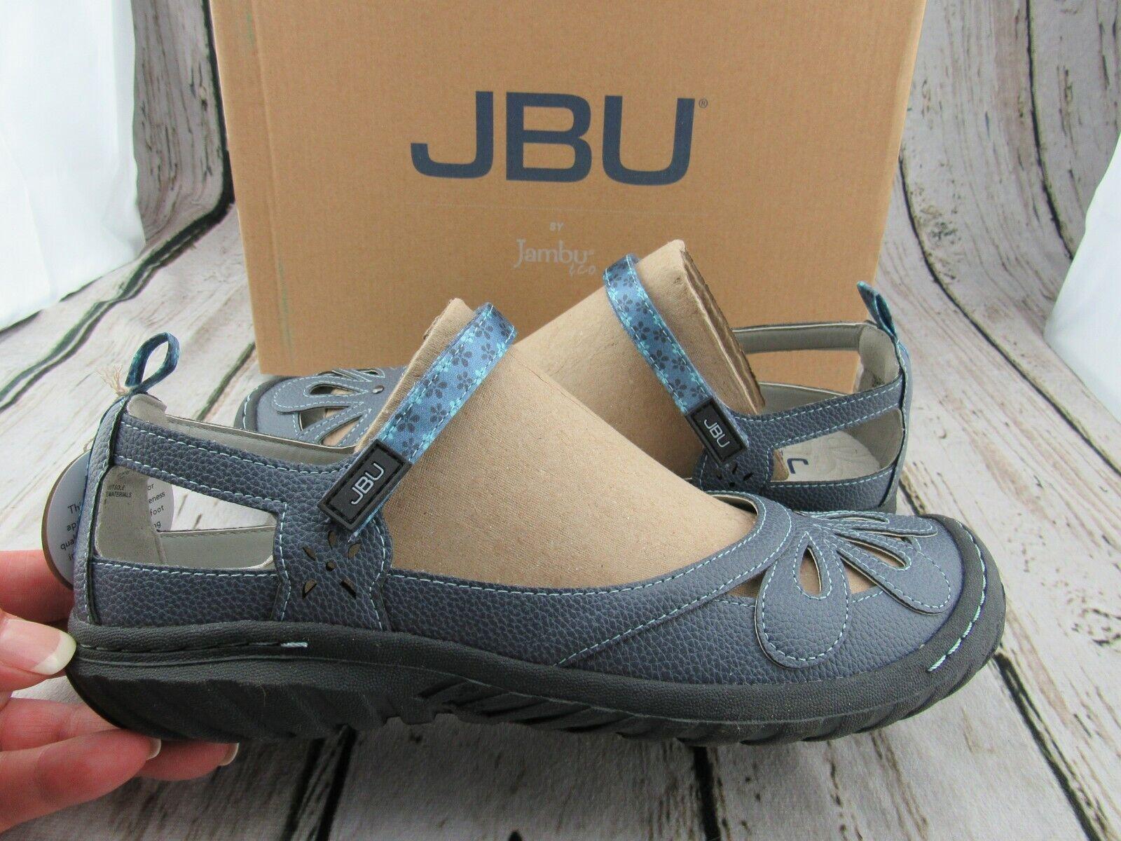 New ~ JBU by Jambu Women's Wildflower Encore Denim Blue Mary
