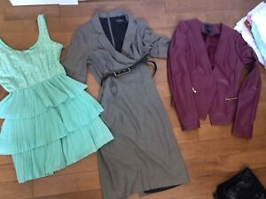 8 pieces of women's clothing — work & casual